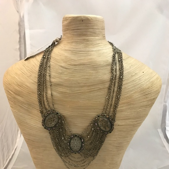 Sorrelli Jewelry - Sorrelli 3 Round and Drape Necklace